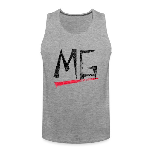 MG Glas black Logo Tank Top - Männer Premium Tank Top