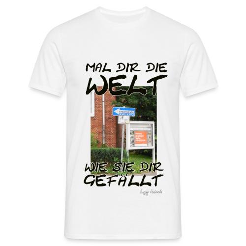 Mal dir die Welt - Männer T-Shirt