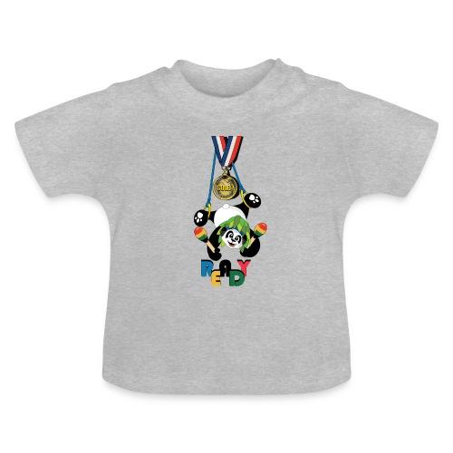 panda Jeux été - T-shirt Bébé