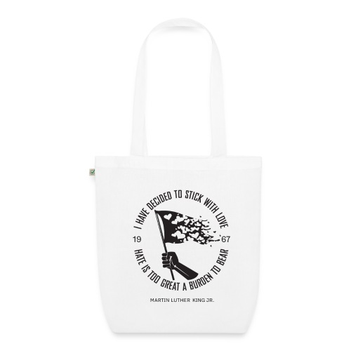 Martin Luther King jr. - EarthPositive Tote Bag