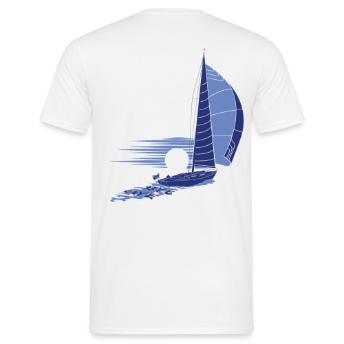 Sailing away_white - Men's T-Shirt