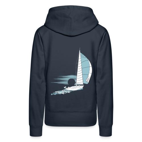 Sailing Away - Women's Premium Hoodie