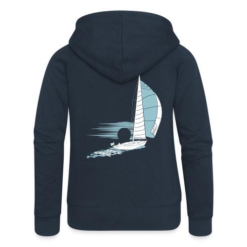 Sailing Away - Women's Premium Hooded Jacket