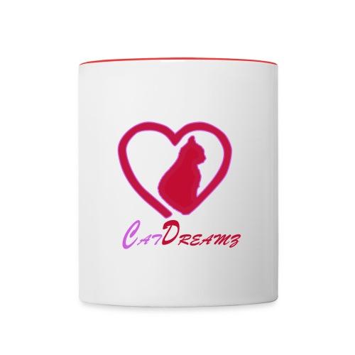 CatDreamz Tasse 2farbig - Tasse zweifarbig