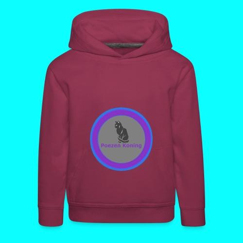 Sweater met logo ---   - Kinderen trui Premium met capuchon