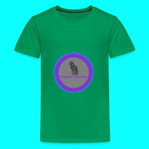 T-Shirt met Logo  - Teenager Premium T-shirt