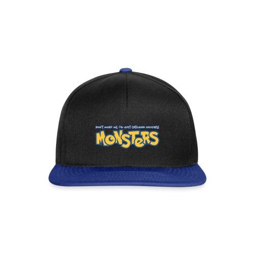 Monsters - Snapback Cap