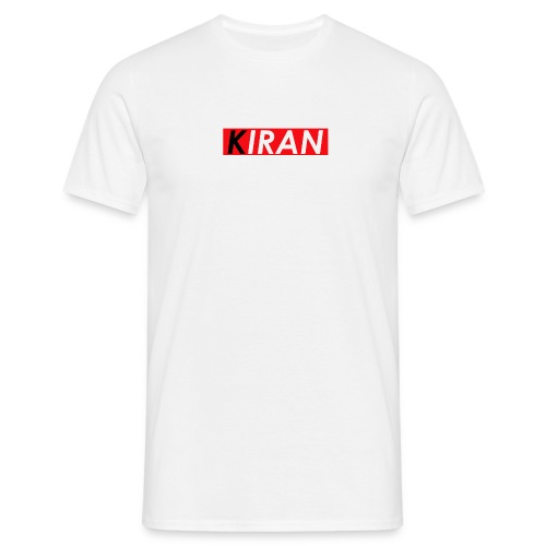 Red Pepsi KIRAN Box Logo Mockoff - Männer T-Shirt