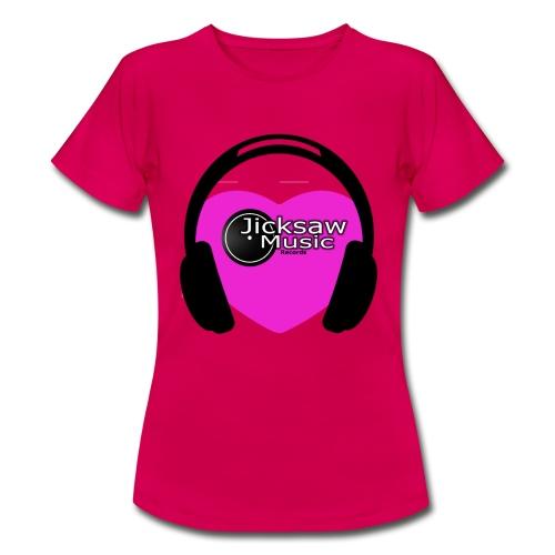 LOVE Music + JicksawMusic Logo - Frauen T-Shirt