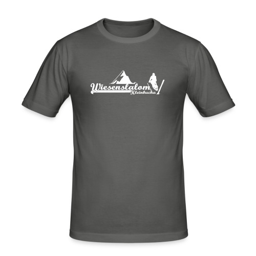 Wiesenslalom Kleinbucha  - Männer Slim Fit T-Shirt