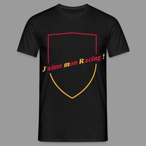 T-Shirt J'aime mon Racing  - T-shirt Homme