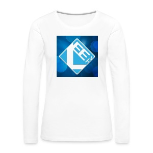 LeeTV Long Sleeve Shirt - WOMENS (white) - Women's Premium Longsleeve Shirt