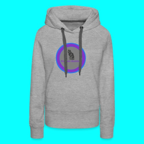 Sweater met logo ---  Vrouwen elke maat - Vrouwen Premium hoodie