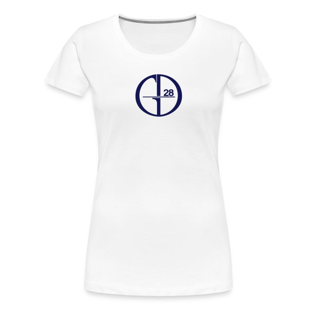 GD28 Ladies' White T-Shirt