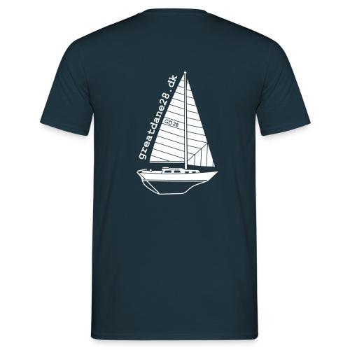 GD28 Gents' Navy Blue T-Shirt - Men's T-Shirt