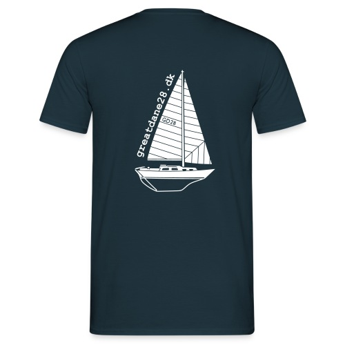 GD28 Gents' Navy Blue T-Shirt - Men's T-Shirt