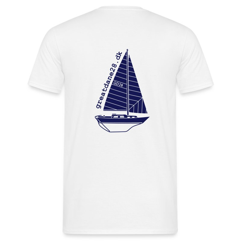 GD28 Gents' White T-Shirt - Men's T-Shirt