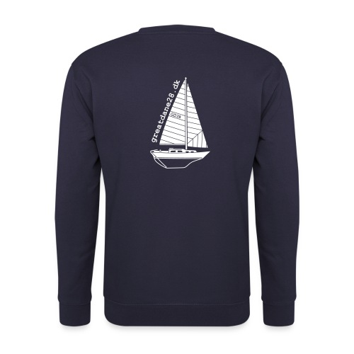 GD28 Gents' Navy Blue Sweatshirt - Men's Sweatshirt