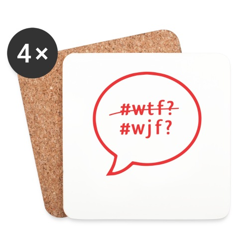 Use these as tiny plates! You might actually finish. - Coasters (set of 4)