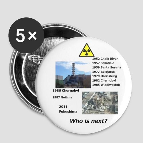 no nuclear button Who is next? - Buttons large 56 mm