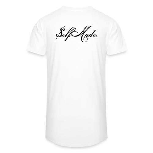 Self Made Oversized Shirt White - Männer Urban Longshirt
