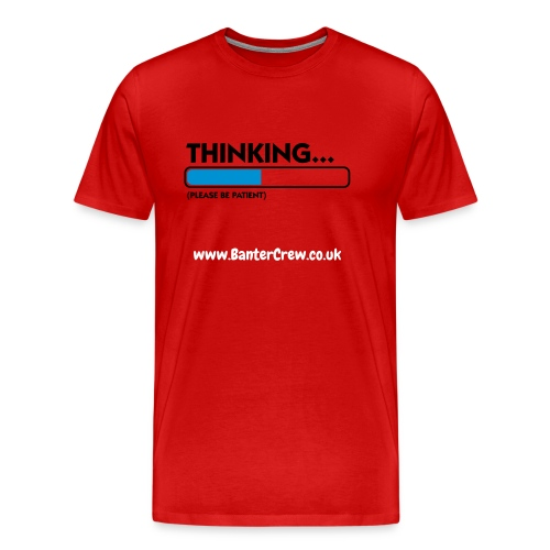 Thinking.... - Men's Premium T-Shirt