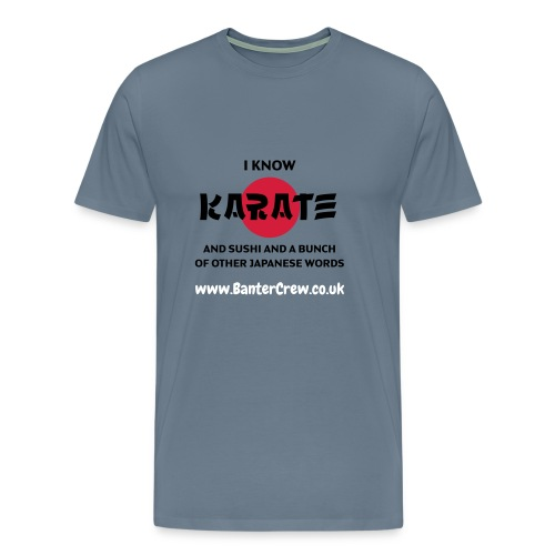 Karate! - Men's Premium T-Shirt