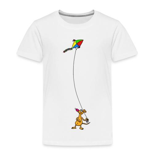 Drachensteigen - Kinder Premium T-Shirt