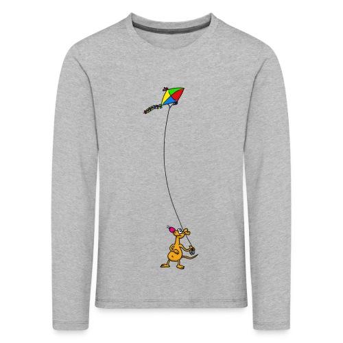 Drachensteigen - Kinder Premium Langarmshirt