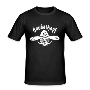 T-Shirt Kauboikopf - Männer Slim Fit T-Shirt