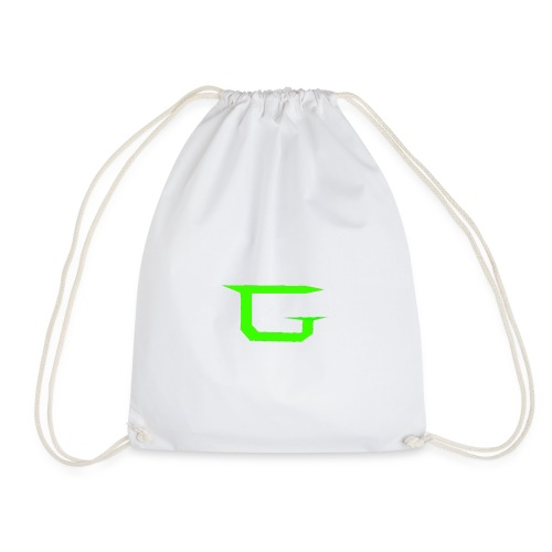 Green Light Gaming Draw String Bag - Drawstring Bag