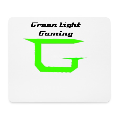 Green Light Gaming Mouse Pad - Mouse Pad (horizontal)