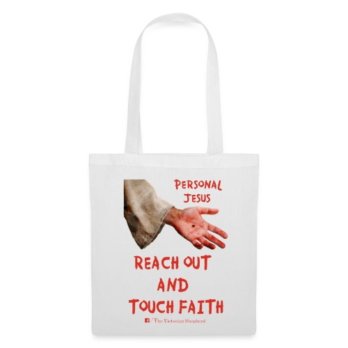 Reach Out And Touch Faith - Tote Bag