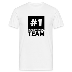 number one development team T-Shirts - Men's T-Shirt