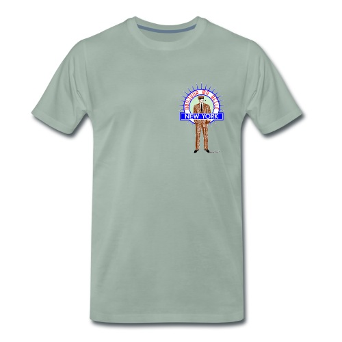Bonjour ma belle New York by Francisco Evans ™ - Männer Premium T-Shirt