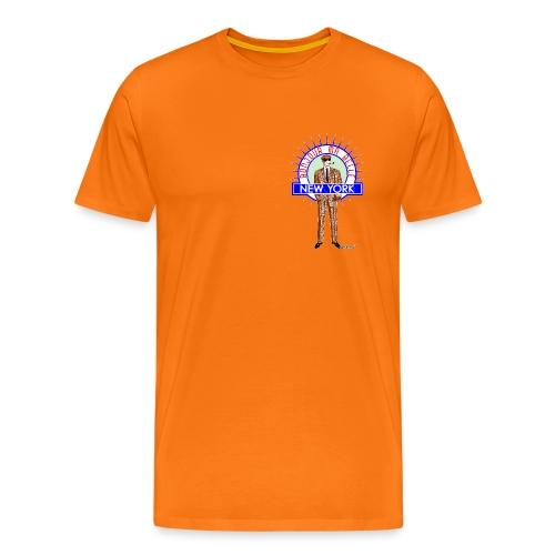 Bonjour ma belle New York by Francisco Evans ™ - Männer Premium T-Shirt