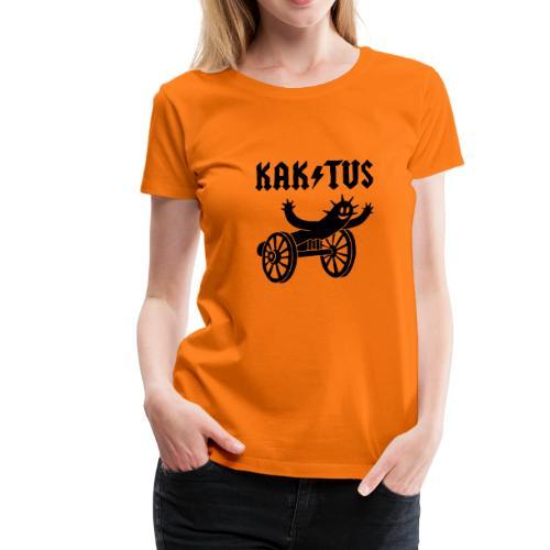 Lady-Shirt KAK / TUS mit Flockdruck - Frauen Premium T-Shirt