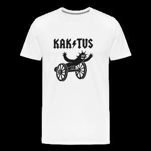 T-Shirt KAK / TUS mit Glitzerdruck - Männer Premium T-Shirt