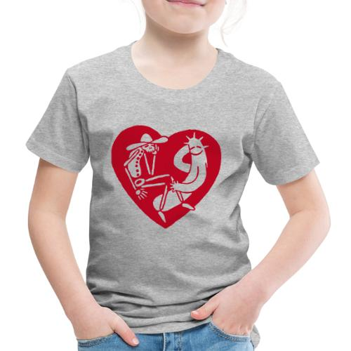 Kinder-Shirt Herz - Kinder Premium T-Shirt