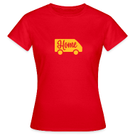 T-Shirts ~ Women's T-Shirt ~ Home in a van