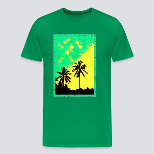 Tropic Dragonfly - Men - Men's Premium T-Shirt