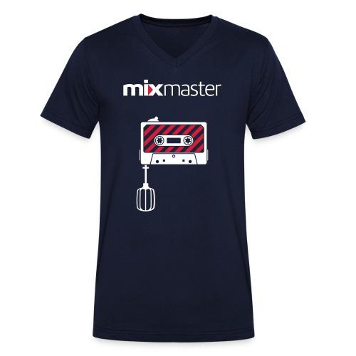 Männer T-Shirt mit V-Ausschnitt - Special Edition - mixmaster - schwarz - Männer Bio-T-Shirt mit V-Ausschnitt von Stanley & Stella