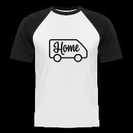 T-Shirts ~ Men's Baseball T-Shirt ~ Home in a van