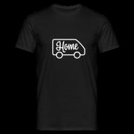 T-Shirts ~ Men's T-Shirt ~ Home in a van