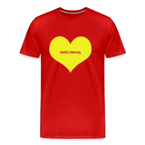 WetWildWendy Love T-Shirt (RED) - Men's Premium T-Shirt