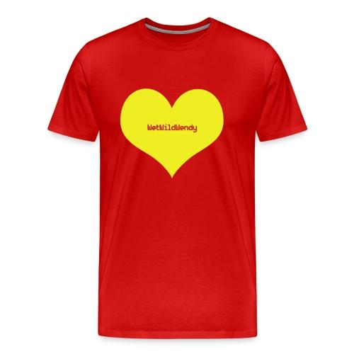 WetWildWendy Love T-Shirt (RED) - Men's Premium T-Shirt