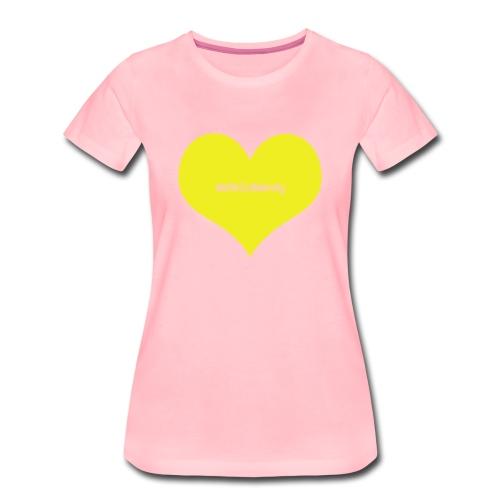 WetWildWendy LOVE T-shirt (PINK) - Women's Premium T-Shirt
