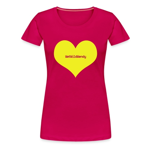WetWildWendy LOVE T-Shirt (DARKPINK) - Women's Premium T-Shirt