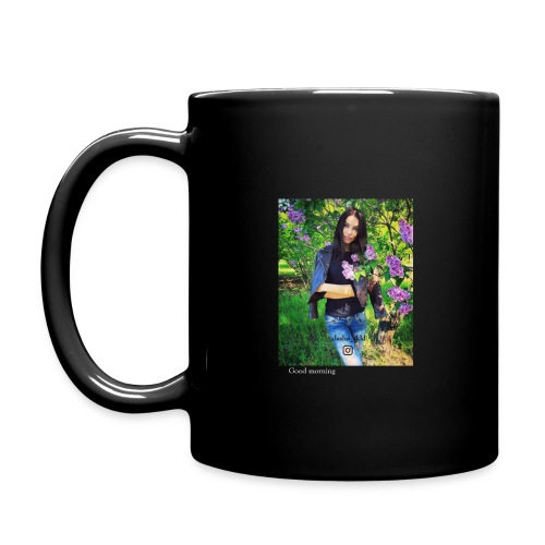 dasha_ddd black cup - Full Colour Mug