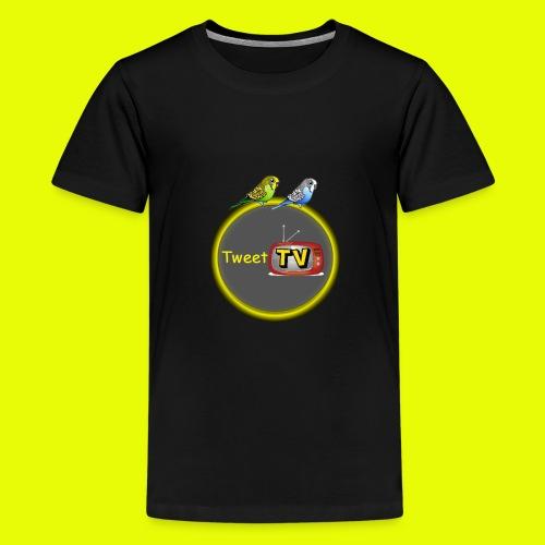 TweetTv T-shirt ORIGINAL  kids - Teenager Premium T-shirt
